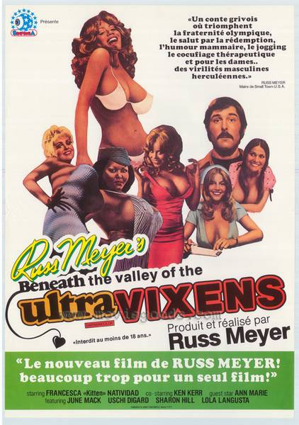Beneath the Valley of the Ultra-Vixens (1979/DVDRip/RUS)