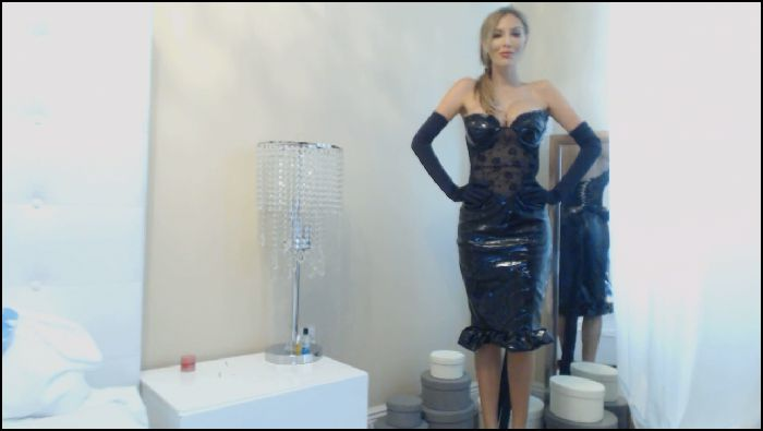 ExquisiteGoddess Latex dress and gloves worship Preview