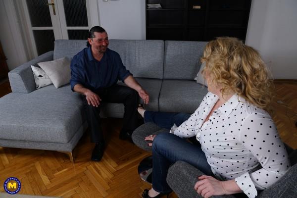 Irina 46 – Horny housewife fucking and sucking (2016/Mature.nl/FullHD)