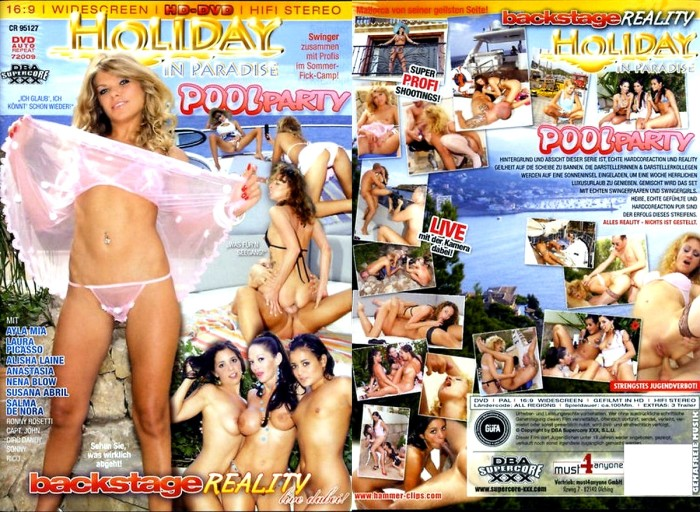 Holiday In Paradise Pool Party