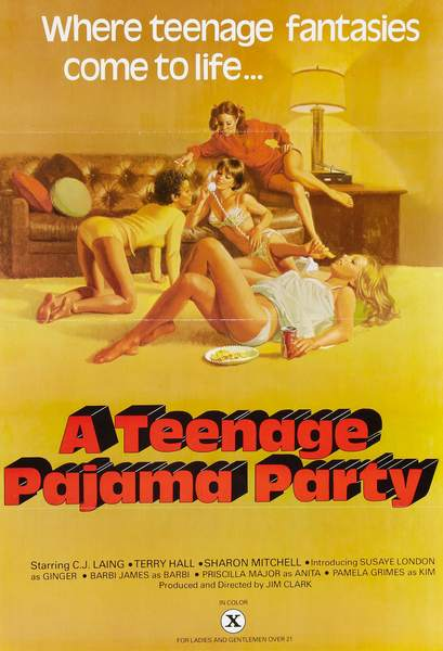 Teenage Pajama Party (1977/VHSRip)