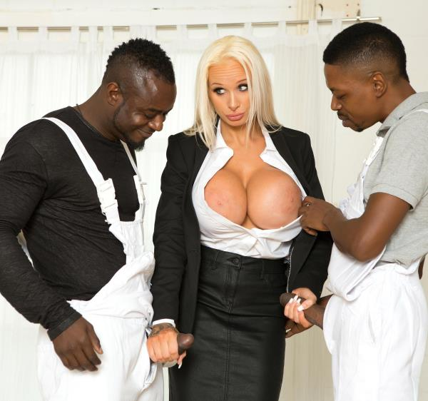 Sophie Anderson – She Takes Two Big Black Dicks (DDFBusty.com/DDFNetwork.com/2018/HD)