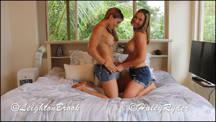 LeightonBrook GG The Sex Tape W HaleyRyder Preview