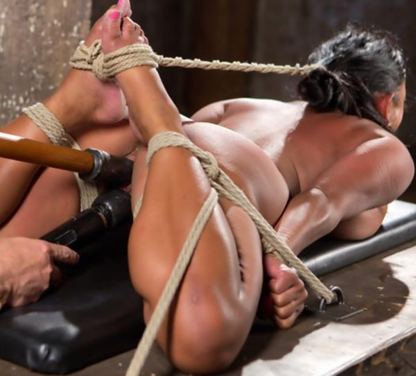 Maxine X – Big Tits Bound, Tormented Body, and Pussy and Face Fucked (HogTied.com/Kink.com)