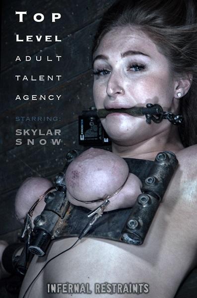 Skylar Snow – Top Level Talent Agency (2018/InfernalRestraints.com/IntersecInteractive.com/HD)
