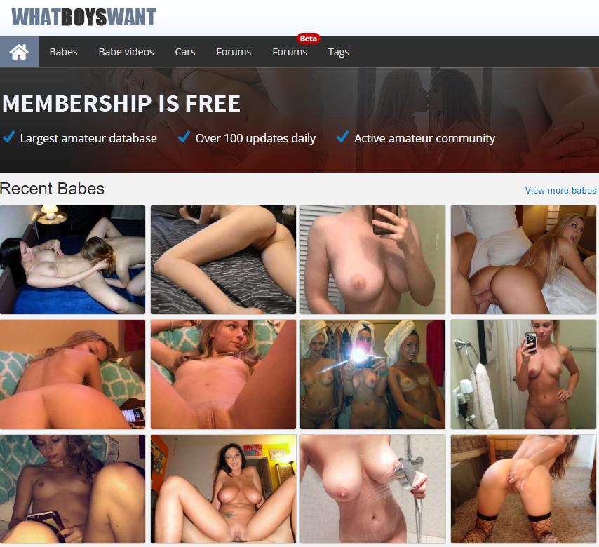 Whatboyswant com