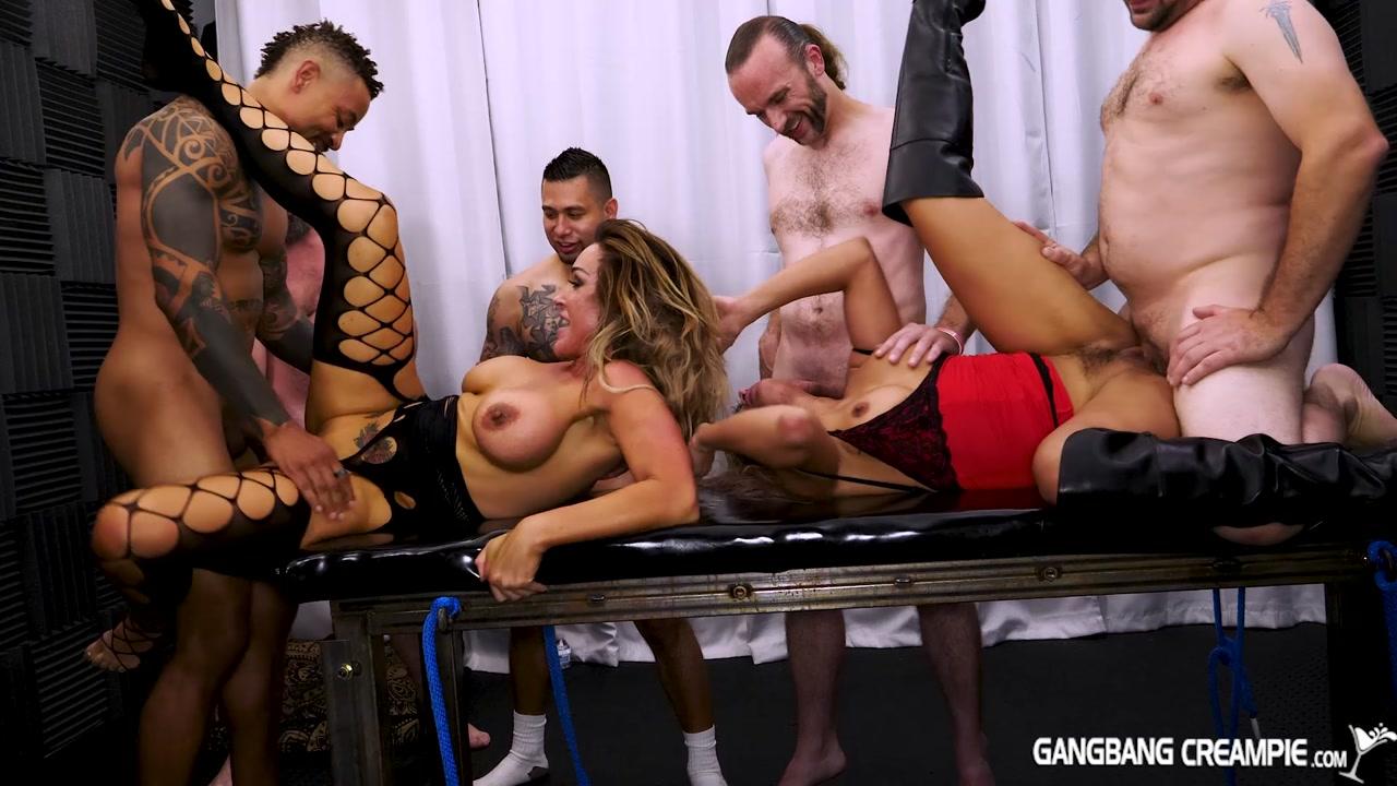 Aubrey Black, Mercedes Carrera – G188 GangBang Creampie 188 (GangbangCreampie.com/2018/HD1080p)