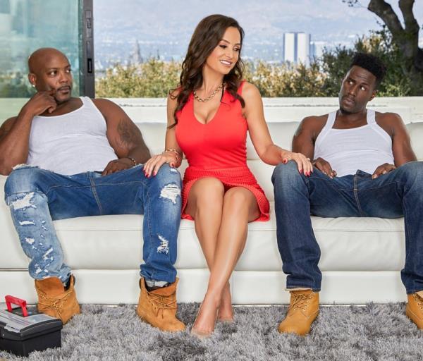 Lisa Ann – MILF Lisa Anns Interracial Threesome (EvilAngel.com/2018/HD)