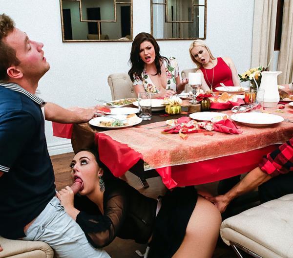 Whitney Wright, River Fox, Jessica Rex – Thanksgiving Dinner Sluts (Realitykings.com/2018/480p)