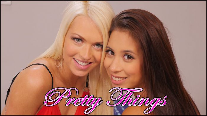 Teacher Julia Pretty Things with Lena Love and Paula Preview