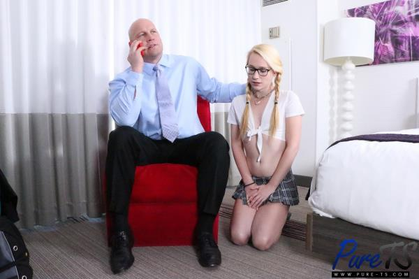 Aphrodyte – Trans Student Earns Her A (2018/Pure-ts.com/HD)