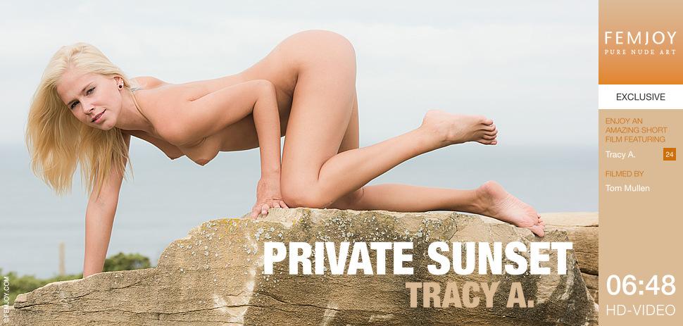 Tracy A – Private Sunset (FemJoy.com/HD1080p)