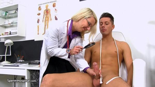 Sima – Hospital Cfnm with leggy Czech MILF doctor Sima (2018/Spermhospital.com/HD)