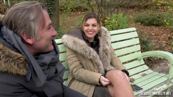 Ines – Ines, 18ans, fait monter la temperature (2018/JacquieEtMichelTV.net/HD1080p)