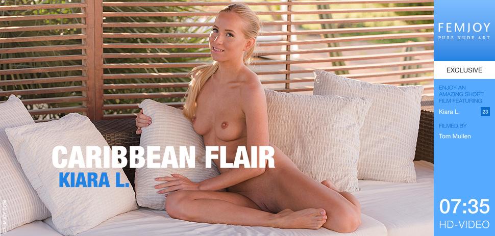 Kiara L  – Caribbean Flair (FemJoy.com/HD1080p)