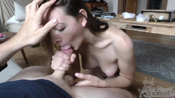 Rebeka – Rebeka Giving Me A Sloppy Blowjob Covered In Spit And Cum On Her Tits (2018/AfterHoursExposed.com/480p)