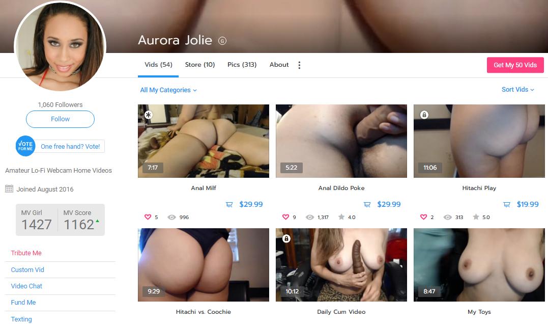 Aurora Jolie – manyvids.com – Siterip – Ubiqfile