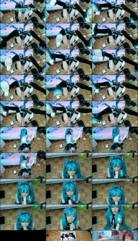 Lana Rain Hatsune Miku Fucked While Tied Up Preview