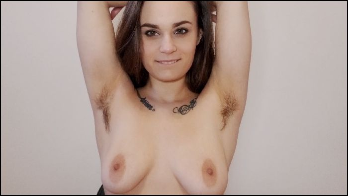 NinaCrowne Hairy Pits JOI Preview