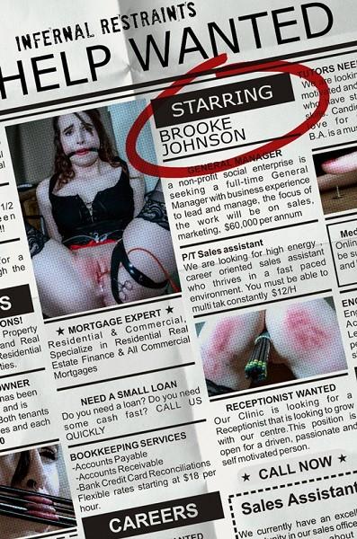 Brooke Johnson – Help Wanted (2019/InfernalRestraints.com/IntersecInteractive.com/480p)