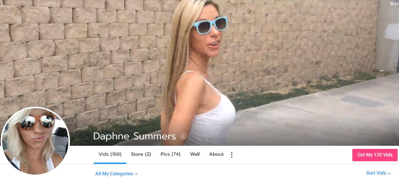 DAPHNE SUMMERS - MANYVIDS - SITERIP