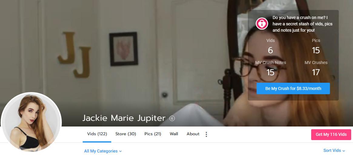 JACKIE MARIE JUPITER - MANYVIDS - SITERIP