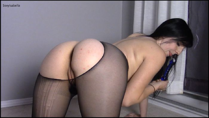 SexyIsabella7 Pantyhose Ass Spreading and Anal Preview