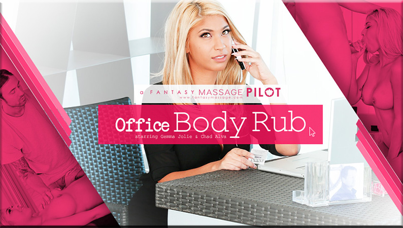 Gemma Jolie – Office Body Rub (FantasyMassage.com)