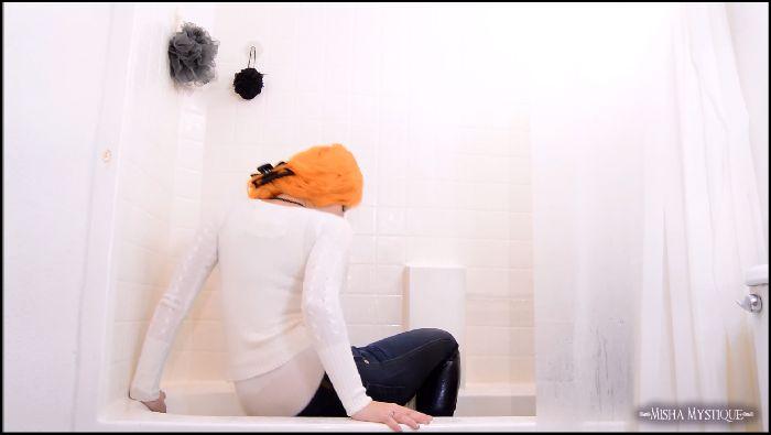 Misha Mystique Wet Denim Designer Jeans in Shower Preview