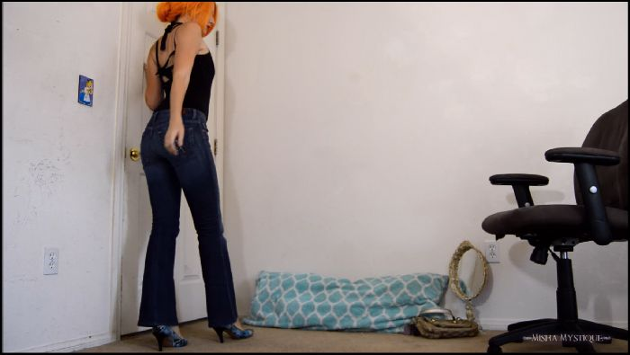 Misha Mystique BTS Jeans Teases from Stretching and Ice (manyvids.com)