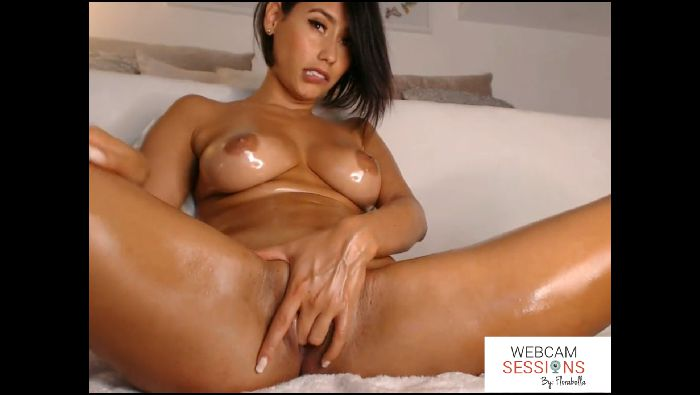Florabella Webcam Sessions VOL 4 Pt1  Sexy amp Oily Preview
