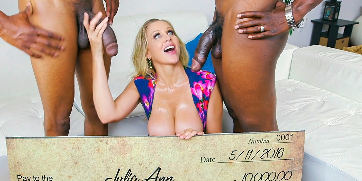 Julia Ann – Wins Three Big Prizes (BlacksOnMoms.com/HD1080p)