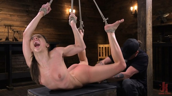 Abella Danger – Pain Slut Abella Danger Suffers In Grueling Predicament Bondage (Hogtied.com/Kink.com/2019/HD)