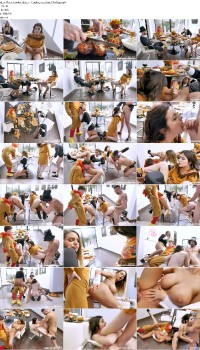 Brooklyn Chase, Rosalyn Sphinx - Thanksgiving Snatch Stuffing Preview