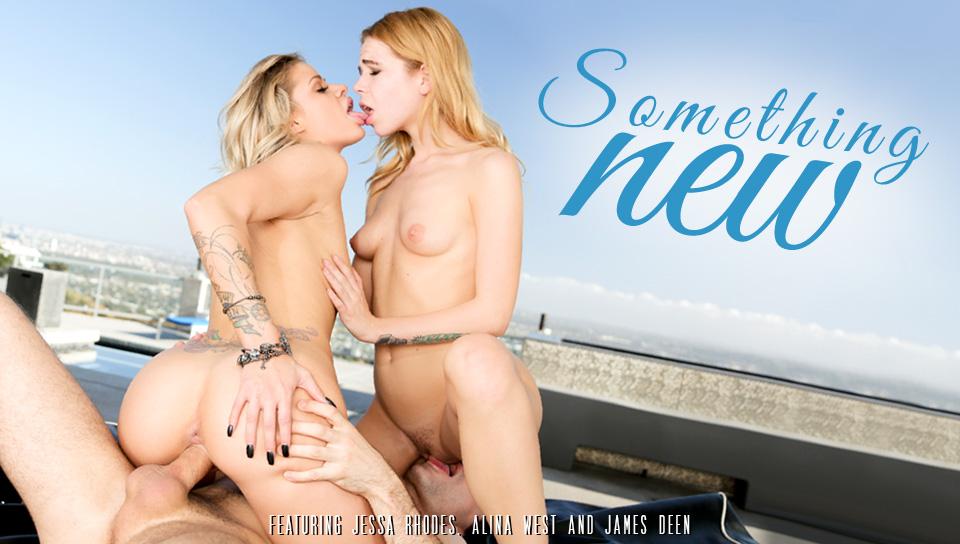 Jessa Rhodes & Alina West – Something New, Episode 1 (EroticaX.com)