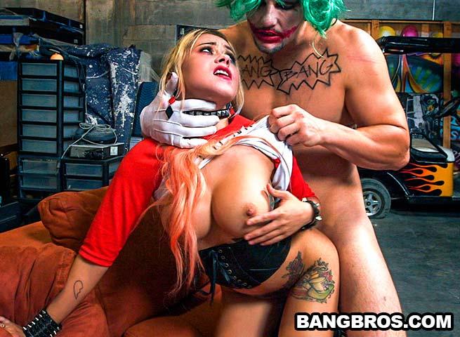 Marsha May – Revving Up The Harley! (BangBros.com)
