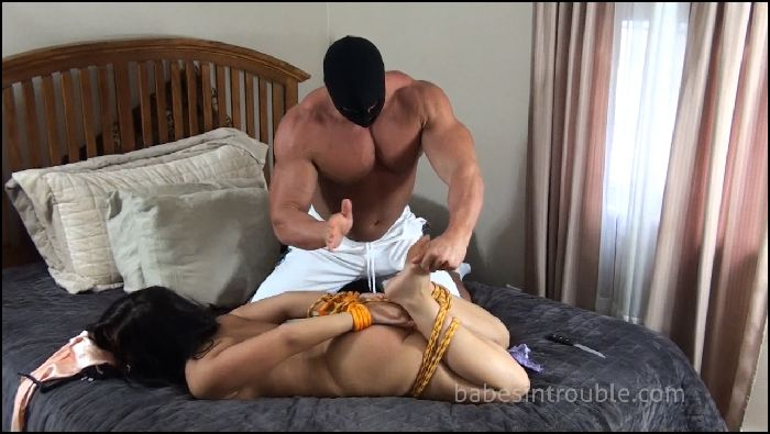 Babes in Trouble Sahar Rose Hogtied and Fucked Preview
