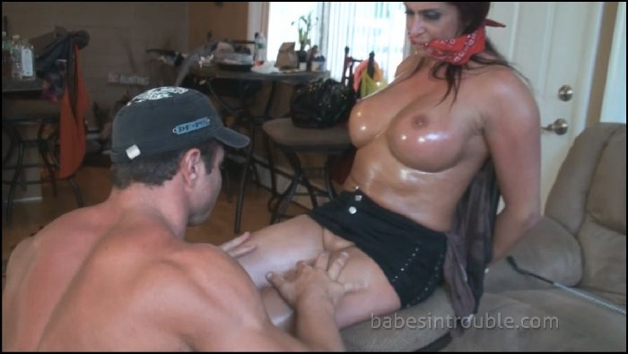 Babes in Trouble MILF Gigi Gatsby Bound and Fucked Preview