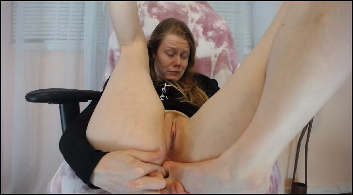 sexyredfox89 Perfected Skill Big Toe Masturbation Preview
