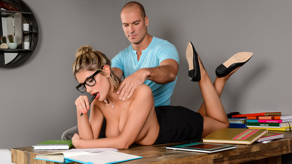August Ames – Study Buddies (Brazzers.com)