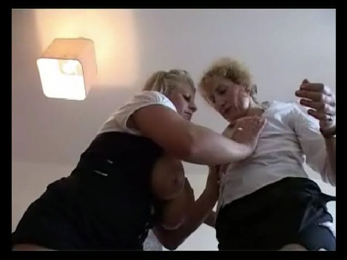 Amateur Girls Fucked Lesbian MILFs play together Preview