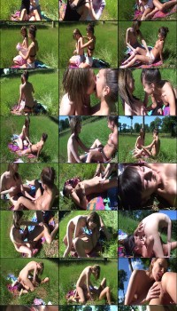 AmateurSluts Petite Teen Public Lesbo Romp Preview