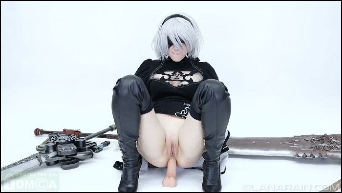 Lana Rain 2B Uses Her Body To Rescue Preview