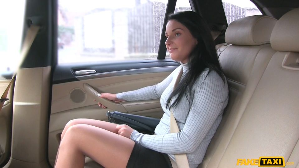 Lucia Denvile – Sexy Long Legs in Lace Stockings (FakeHub.com)