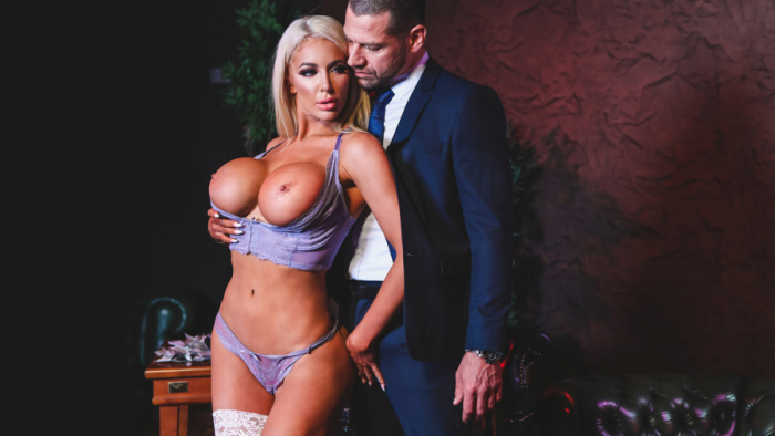 Nicolette Shea, Jay Snake – Hot Nights, Cold Blood Scene 2 (Digitalplayground/2019/480p)