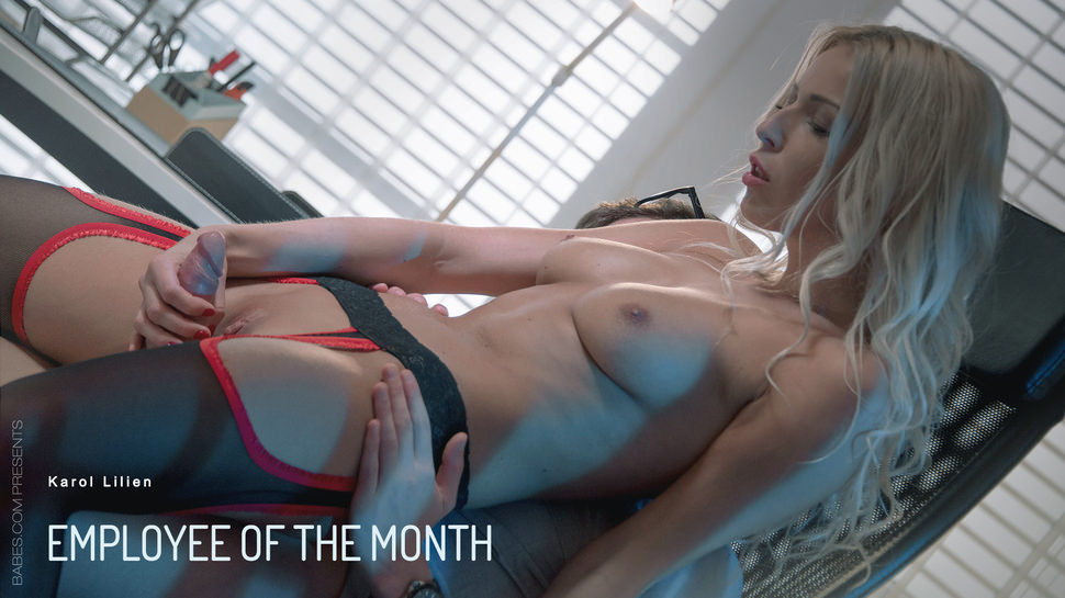 Karol Lilien – Employee Of The Month (Babes.com)