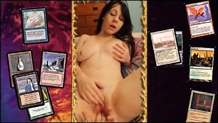 AdorkableAria Boy Girl BG Fuck Suck For Magic Card MTG Preview