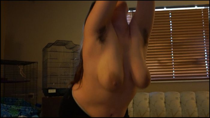 Sabrina Spice Nude Yoga with FULL BUSH and BIG TITS Preview