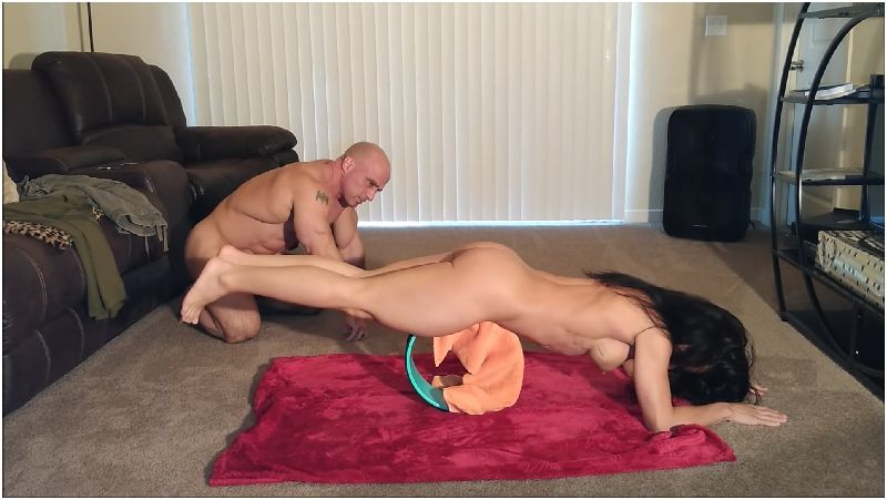 Alexis Rain - Naked yoga with Sis Preview