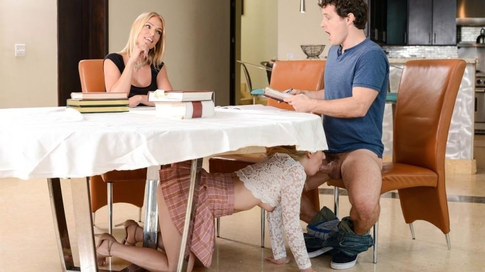 Abby Adams, Rachael Cavalli – My Stepmom Ruined The Study Session (MomsBangTeens/RealityKings/2019/480p)